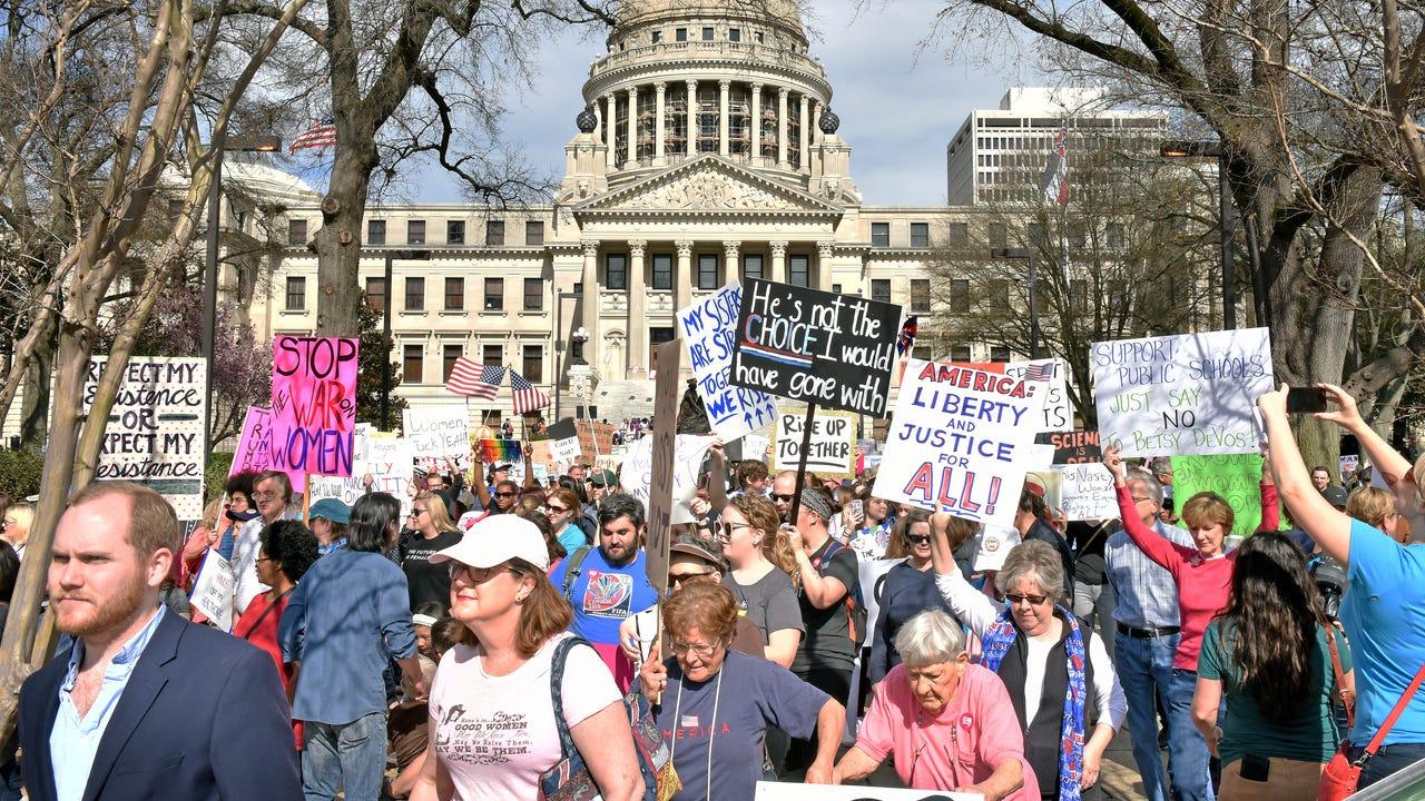 Women's March on Jackson