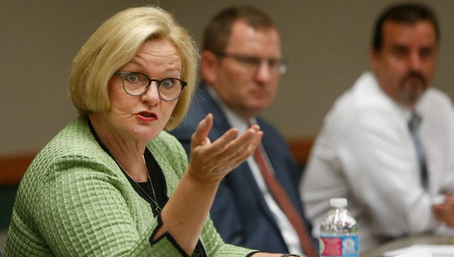 Sen. Claire McCaskill's staff has discovered several fake Facebook accounts that appropriated McCaskill's image and name.
