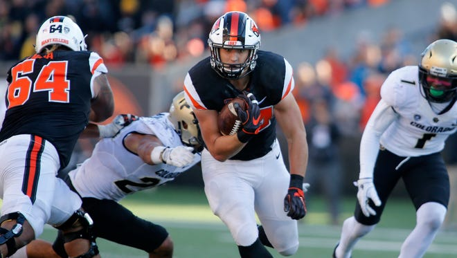 Oregon State running back Ryan Nall leaves Beaver Nation as the eighth-leading rusher in school history.