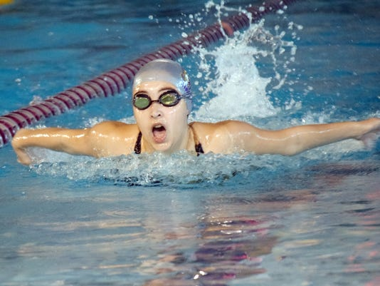 Alexandria Senior High School Trojan Swim Invitational held Saturday, Oct. 20, 2018. Swimmers were from ASH, Barbe, CE Byrd, Ruston, Natchitoches Central, Menard, Pineville, Airline and Tioga.