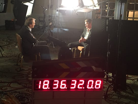 Charlie Rose interviews Sean Penn for '60 Minutes'