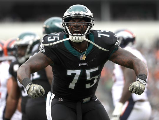 Eagles' Vinny Curry of Neptune.