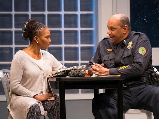 """Suzzanne Douglas and Mark Kenneth Smaltz in """"American"""