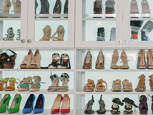 5 ways to step up your shoe storage for California closets reno