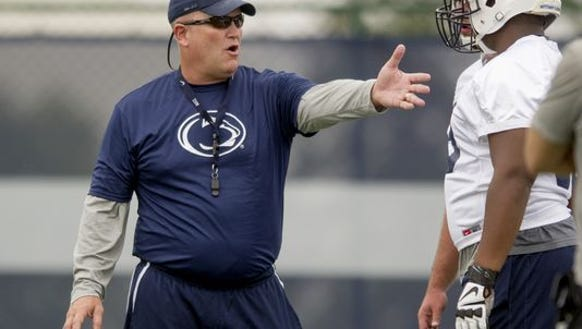 Penn State offensive line coach Herb Hand has agreed