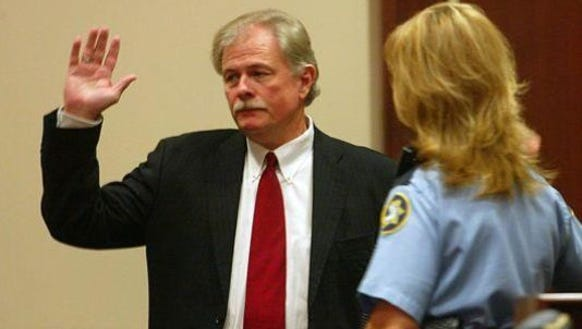 Former Judge John Gasaway can not represent wife, who