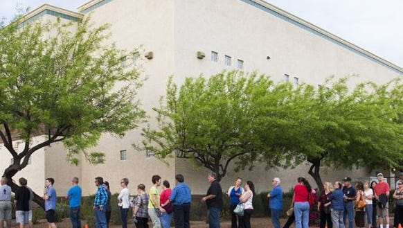 Arizona voters await their opportunity to put this