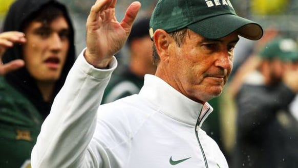 Art Briles was fired at Baylor after eight seasons
