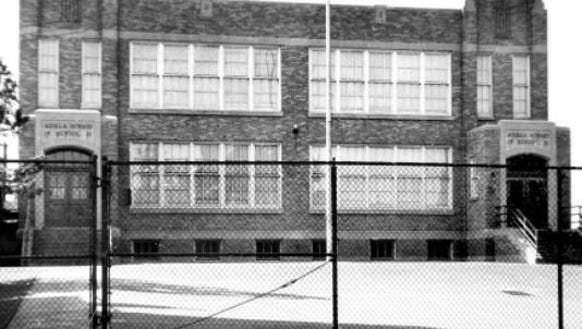 Aquilla Howard School, built in 1931, served as one