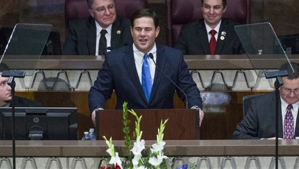 Gov. Doug Ducey has proposed a four-tenths of a percent