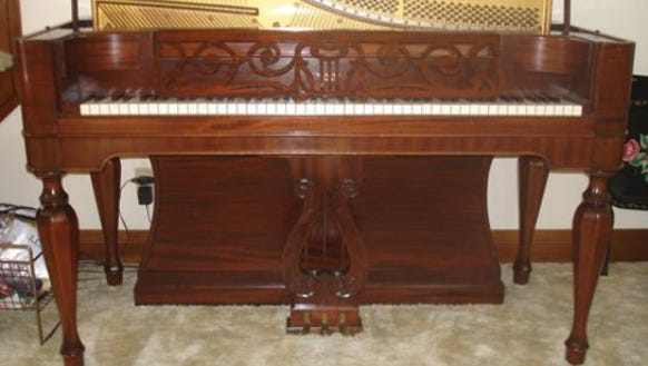 This Weaver piano was made in the Great Depression