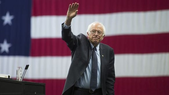Around NY's capital city, candidates converge