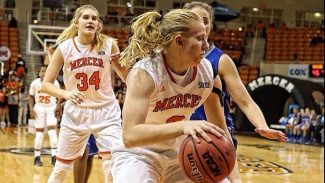 Hayesville alum Amanda Thompson is a freshman for the Mercer (Ga.) women's basketball team.