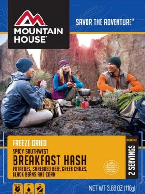 A recall has been issued for Mountain House brand Freeze Dried Spicy Southwest Breakfast Hash manufactured on Dec. 22, 2016.