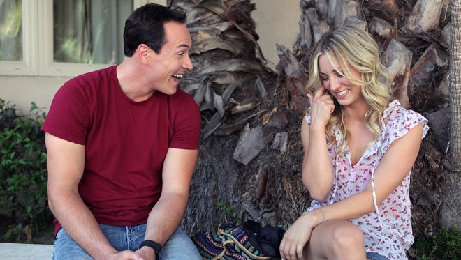 """Chris Klein and Kaley Cuoco-Sweeting play up-and-coming writers in the ensemble comedy """"Authors Anonymous."""""""