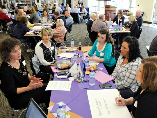 Focus groups come up with suggestions for services