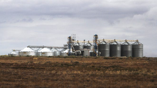 Navajo Agricultural Products Industry facilities  are pictured on Aug. 9, 2014. NAPI's headquarters are located south of Farmington.