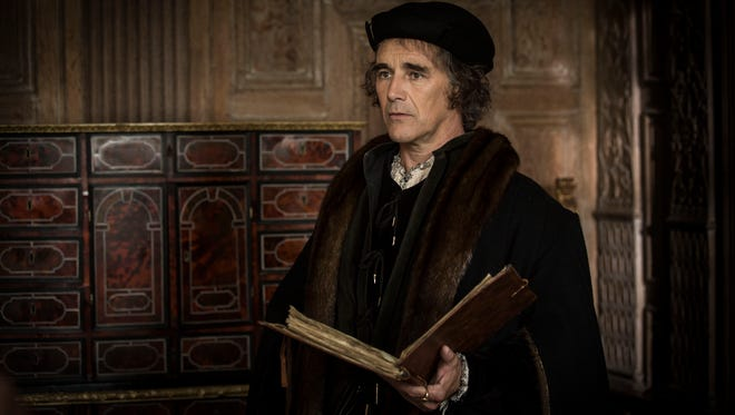 Mark Rylance as Thomas Cromwell in 'Wolf Hall' on 'Masterpiece' on PBS.