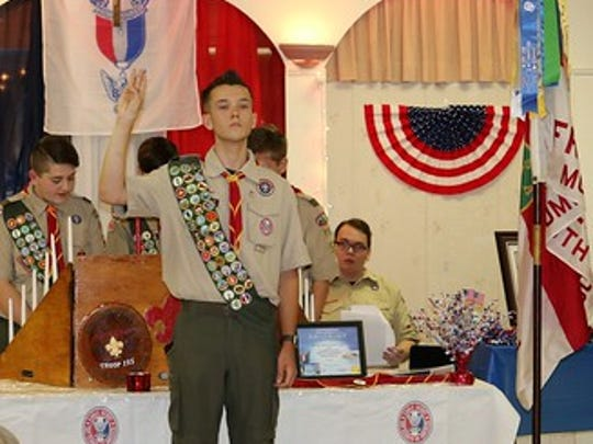 On Jan. 30, Darius Cotter marked an important personal milestone. He became an Eagle Scout, officially celebrating with a Court of Honor on June 10. The 18-year-old is the 15th member of his family on his mother's side — the Simon side — to achieve the rank.