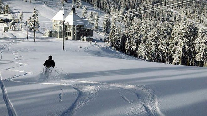 Mount Ashland Ski Area, which didn't open last season due to a lack of snow, offered a limited opening Friday and is planning operations through the weekend.