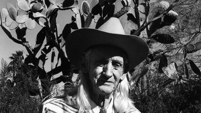 Chester (Cactus Slim) Moorten c. 1965.