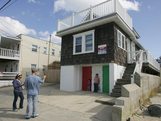 "The ""Jersey Shore"" house in Seaside Heights has become popular with tourists. ,"