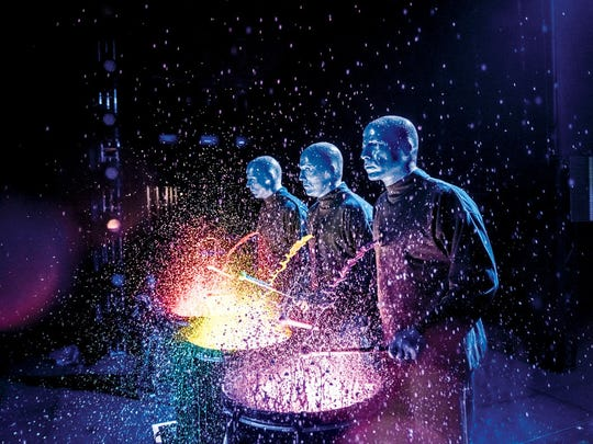 Blue Man Group has performed in more than 20 countries