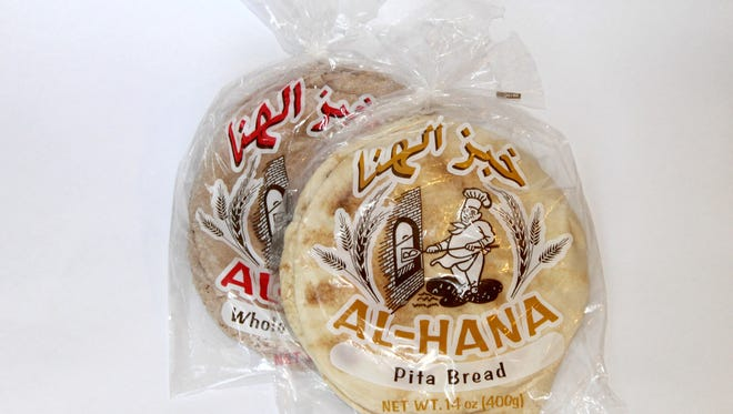 Baiz Fresh Foods make whole wheat and regular pita bread.
