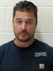 Buchanan County Sheriffs Office booking photo of Chris