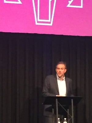 Bret Stephens delivered a scathing indictment of President Trump at the Rancho Mirage Writers Festival