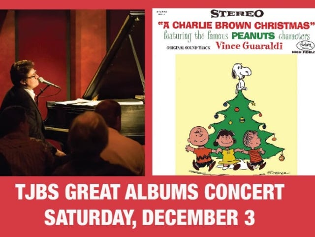 A Charlie Brown Christmas Soundtrack.Jazz Blues Society To Perform A Charlie Brown Christmas