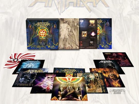 """Anthrax """"For All Kings"""" box set."""