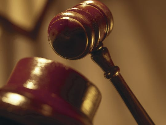 This file photo shows a gavel.