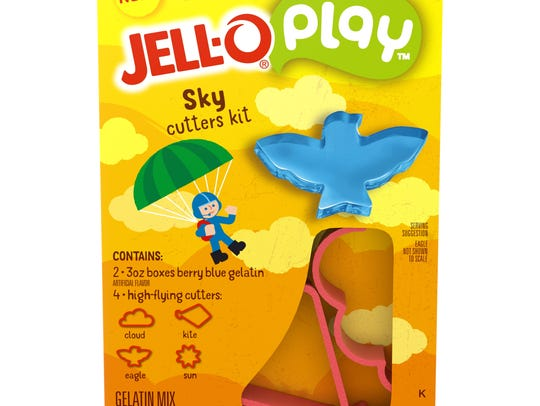 Jell-O Play sky cutters kit.