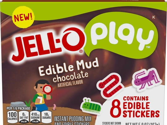 Jell-O Play edible mud kit.