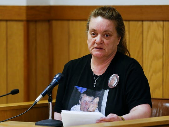 Shelly Arthur, the mother of Corey Arthur who was killed