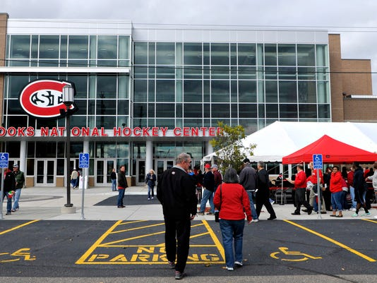 It's a proud day for SCSU, hockey fans, donors