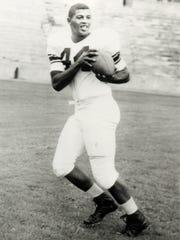 Ernie Davis was a star running back at Syracuse University