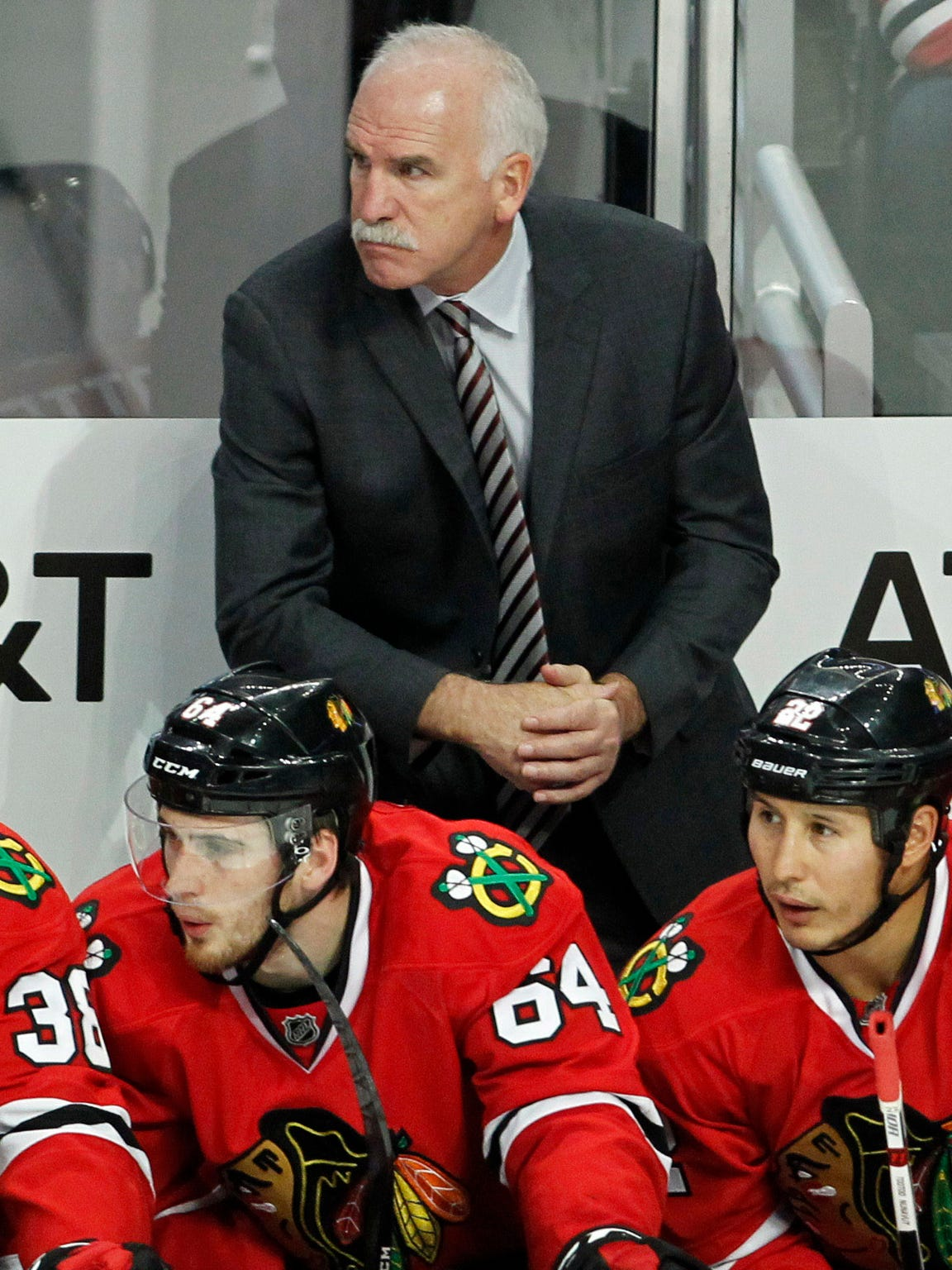 Joel Quenneville has won three Stanley Cups with the