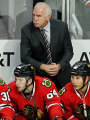 Joel Quenneville has won three Stanley Cups with the Chicago Blackhawks.