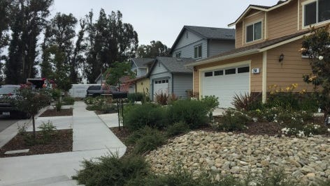 A Saturday block party will celebrate the completion of eight affordable homes in Santa Paula.