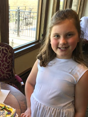 Hailey Cousland, a third-grader at Wales Elementary School, raised $500 to benefit the American Lung Association.