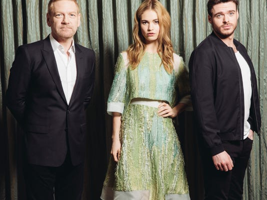 Kenneth Branagh Lily James Richard Madden