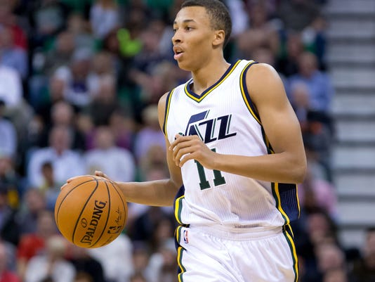 NBA  Cleveland Cavaliers at Utah Jazz. Jazz guard Dante Exum could be one of  the biggest names at the Rocky Mountain Revue ... 2b2bd1aa3