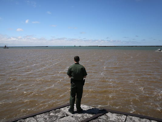 U.S. Customs and Border Protection Monitors Canadian-American Border By Land, Air And River Patrols