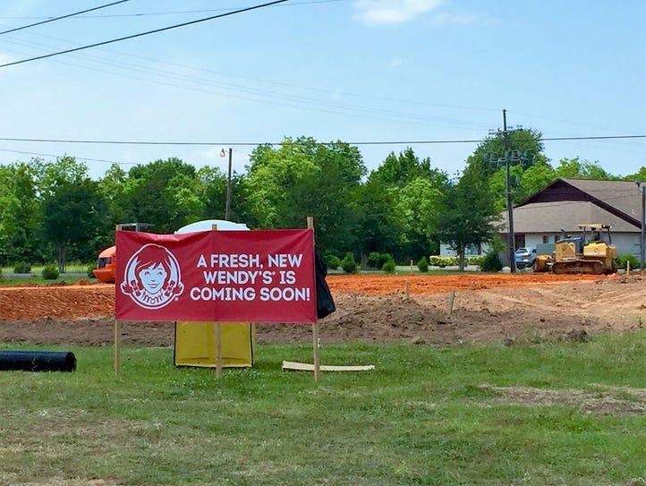 Construction has begun on a new Wendy's on Louisiana