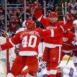 Red Wings 2, Rangers 1 (OT)