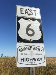 Old Highway 6 is also known at the Grand Army of the