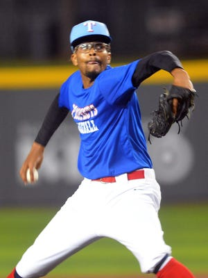 Houston MVP Prospects pitcher Kelvan Pilot went 9.2 innings in a 3-2 loss to Lonestar Baseball in the opening round of the NBC World Series at Eck Stadium.