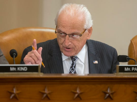 Rep. Bill Pascrell speaks during a House Ways and Means